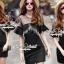 Seoul Secret Say's... Blacky Tuffy Chic Dress thumbnail 4