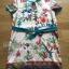 Lady Ribbon's Made Lady Marina Sweet Vintage Floral Printed Dress with Ribbon thumbnail 5
