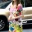 Seoul Secret Say's... Fairly Lanla Color Dress สีชมพู thumbnail 2