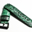 Green Genuine Leather Back Lizard Leather Watch Strap Pam Buckle 24/20 mm thumbnail 4