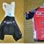 **สินค้าพรีออเดอร์**ชุดจักรยาน (เสื้อแขนสั้น + กางเกงเอี้ยมปั่นจักรยาน) thumbnail 3