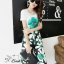 Sweet Bunny Present... Shoe flower wide trousers set with belt thumbnail 5