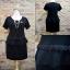 ชุดดำ สำหรับสาวอวบ++ F 36-43นิ้ว T5101 thumbnail 2
