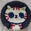 พรมแฟนซี ลาย Lovely cat thumbnail 8