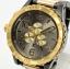 นาฬิกา NIXON Men Chronograph Chronograph Black Gold Dails Watch A083595 48-20 thumbnail 2