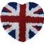 พรมแฟนซี ลายหัวใจธงอังกฤษ thumbnail 1