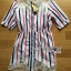 Lady Ribbon's Made Lady Julie Minimal Insert Lace Striped Short Dress thumbnail 5