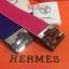 Hermes Kelly Bracelet สีชมพูบานเย็น, สีแดง, สีน้ำเงิน, สีดำ ,สีเทา thumbnail 17