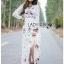 Lady Ribbon's Made Lady Florence Boho Chic Floral Printed Maxi Dress thumbnail 1