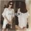 Lady Ribbon's Made Lady Florence Modern Hippie Free-Spirit Fringed Lace Dress thumbnail 4