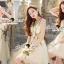 Seoul Secret Say's... Violatta Bloom Creamy Cami Dress thumbnail 6