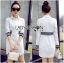Lady Ribbon's Made Lady Alana Minimal Chic White Cotton Shirt Dress thumbnail 3