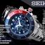 นาฬิกา Seiko Men Chronograph Solar System Diver 200m seiko ssc019P สาย Stainless Pepsi thumbnail 7
