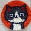 พรมแฟนซี ลาย Lovely cat thumbnail 4