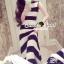 "Seoul Secret Say's... ""Chic Stripy Maxi Knit"" thumbnail 1"