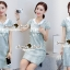 Seoul Secret Say's... Givenchy Hoody Chic Denim Dress thumbnail 6