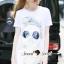 Seoul Secret Say's...Chic Chill Glasses Sequinny Skinny Pants Set thumbnail 5