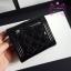 Chanel boy wallet สีดำ หนังแก้ว งานHiend Original thumbnail 5