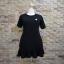 ชุดดำพร้อมส่ง สำหรับสาวอวบ++ F 36-43 นิ้ว T5108 thumbnail 7