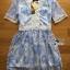 Lady Ribbon's Made Lady Gabby Feminine Pretty Blue Floral Lace Dress thumbnail 7