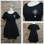 ชุดดำพร้อมส่ง สำหรับสาวอวบ++ F 36-44 นิ้ว J113 thumbnail 2