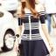 Seoul Secret Say's... Chic Stripy Knitty Dress thumbnail 5