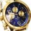 นาฬิกา NIXON Men Chronograph Chronograph Blue Gold Dails Watch A4861922 48-20 thumbnail 2
