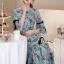 Cliona Made' Provence Floral Line Long Dress thumbnail 5
