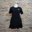 ชุดดำพร้อมส่ง สำหรับสาวอวบ++ F 36-43 นิ้ว T5108 thumbnail 4