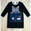 Cat print short Jean dress by Sweet bunny thumbnail 5