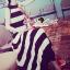 "Seoul Secret Say's... ""Chic Stripy Maxi Knit"" thumbnail 3"
