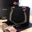 Chanel GST สีดำ CARVIER LEATHER thumbnail 4