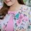 5XL ชุดเดรสสาวอวบ++ผ้าkorea print ทอลายดอกโทนสีชมพู จุดเด่นของชุดนี้ ดีไซน์กั๊กสุดเก๋ ติดโบว์ thumbnail 13