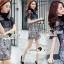 Seoul Secret Say's... Nista Party Flora Stickly Lace Dress thumbnail 6