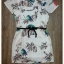 Printed nature dress with belt by Sweet Bunny thumbnail 5