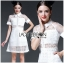 Lady Ribbon's Made Lady Taylor Sweet Preppy Collared White Lace Dress thumbnail 5