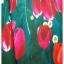 Sweet Bunny Present... Valentino tulip print maxi dress thumbnail 5
