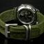 Seiko 5 Sport Mens Automatic Military 100M Green Strap SNZG09 thumbnail 4