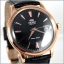 Orient Automatic Black Dial Gold Tone Leather Strap FER24001B thumbnail 3