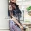 Seoul Secret Say's... Nista Party Flora Stickly Lace Dress thumbnail 8