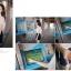 เสื้อทำงานแฟชั่น แขนสั้นระบาย สีขาว รหัส 71714 thumbnail 5