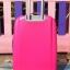 กระเป๋าเดินทางไฟเบอร์ 4 ล้อ ขนาด 24 นิ้ว สีชมพูบานเย็น thumbnail 4