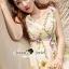 Seoul Secret Say's... Violatta Bloom Creamy Cami Dress thumbnail 4