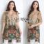Lady Ribbon's Made Lady Kate Flower Blooming Printed Satin Dress thumbnail 4