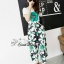 Sweet Bunny Present... Shoe flower wide trousers set with belt thumbnail 4
