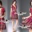 Seoul Secret Say's...V Glitter Violata Summer Color Dress thumbnail 4