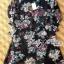 Lady Ribbon's Made Lady Daria Beachy Blossom Print Chiffon Mini Dress thumbnail 2