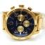 นาฬิกา NIXON Men Chronograph Chronograph Blue Gold Dails Watch A4861922 48-20 thumbnail 5