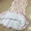 Cliona Made' Pinky Golden Floral Lace Luxury Dress thumbnail 7