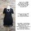 ชุดดำพร้อมส่ง สำหรับสาวอวบ++ F35-42 นิ้ว J117-1 thumbnail 3